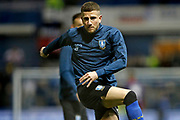 Sheffield Wednesday defender Sam Hutchinson (23) warming up during the EFL Sky Bet Championship match between Sheffield Wednesday and Sheffield United at Hillsborough, Sheffield, England on 4 March 2019.