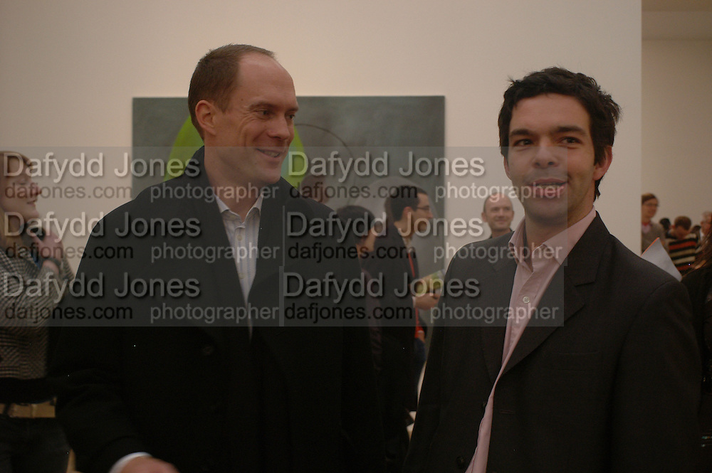 Harry Blain and Elliott Macdonald Martin Kippenberger, Tate Modern. 7 Febriuary 2006. -DO NOT ARCHIVE-© Copyright Photograph by Dafydd Jones 66 Stockwell Park Rd. London SW9 0DA Tel 020 7733 0108 www.dafjones.com