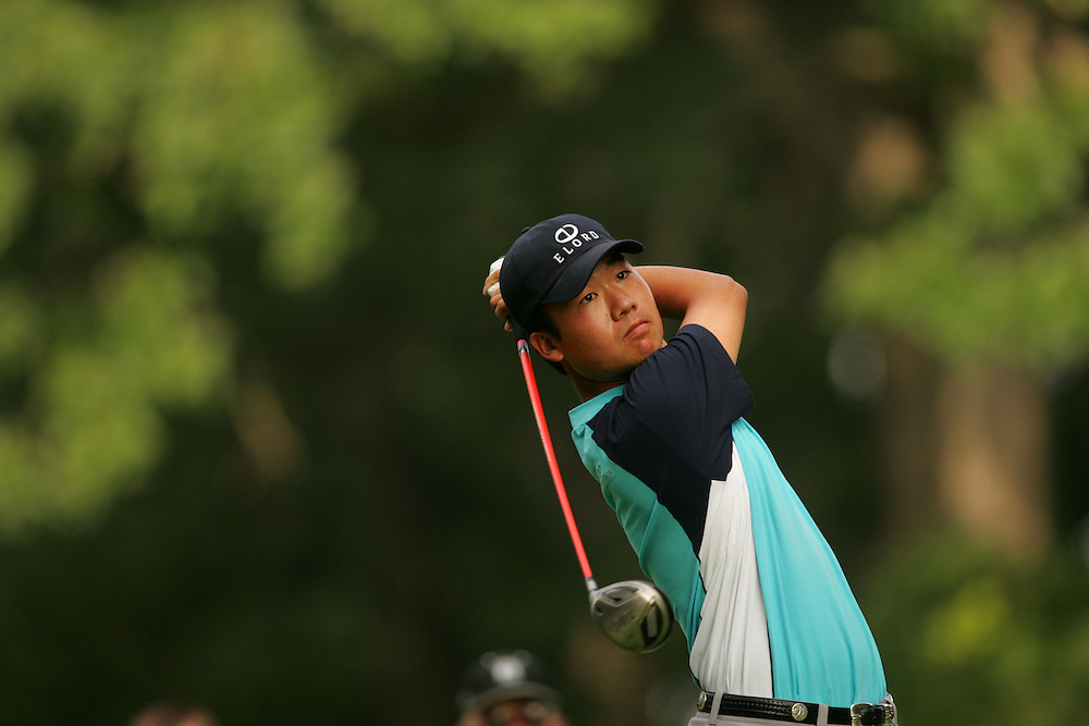 Kevin Na..2004 Western Open.Third Round.Cog Hill GC.Lemont, IL.Saturday, July 3 2004..photograph by Darren Carroll
