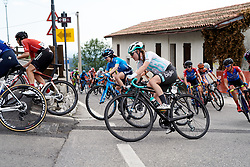 Nikola Noskova (CZE) on the final climb of the day during Stage 8 of 2019 Giro Rosa Iccrea, a 133.3 km road race from Vittorio Veneto to Maniago, Italy on July 12, 2019. Photo by Sean Robinson/velofocus.com