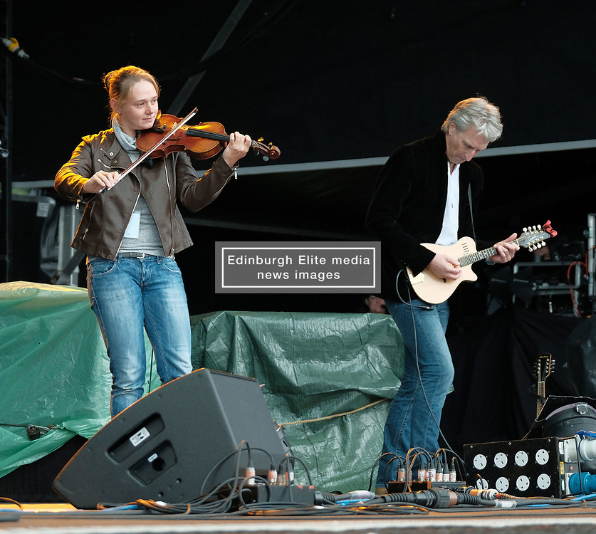 RUNRIG - THE LAST DANCE - FINAL FAREWELL CONCERT, Stirling, Saturday,18th August 2018<br /> <br /> Veteran Scottish rockers Runrig played their farewell concert tonight to mark their retirement after 45 years in the music business.<br /> <br /> The current line-up features Rory Macdonald (Bass), Calum Macdonald (Percussion), Iain Bayne (Drums), Malcolm Jones (Guitar), Brian Hurren (Keyboard) and Bruce Guthro (Lead Singer)<br /> <br /> They were supported by former member Donnie Munro and Julie Fowlis<br /> <br /> Pictured:  Donnie Munro and his Band<br /> <br /> <br /> (c) Alex Todd | Edinburgh Elite media