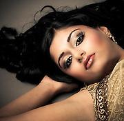 Model: Amisha Sampat.Hair & Makeup: Makeup Royale.Designer: Carma Collections..Photography by Lloyd Barnes