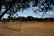 Catalao_GO, Brasil ..Campo de futebol em Catalao...A soccer field in Catalao...Foto: MARCUS DESIMONI / NITRO..