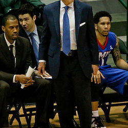 Jan 17, 2016; New Orleans, LA, USA; Southern Methodist Mustangs head coach Larry Brown during the first half of a game against the Tulane Green Wave at the Devlin Fieldhouse. Mandatory Credit: Derick E. Hingle-USA TODAY Sports