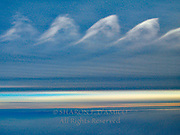 AERIAL, CLOUD FORMATIONS ABOVE EARTH'S SURFACE