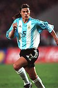 MATIAS ALMEYDA.ARGENTINA & LAZIO.STUTTGART, GERMANY.GERMANY V ARGENTINA.17/04/2002.FE65F26AC