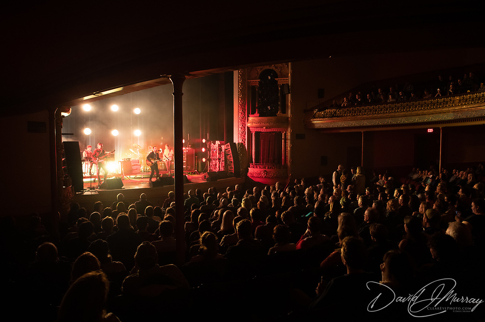 Dawes (the band) performs at The Music Hall in Portsmouth, NH. Feb. 4, 2019