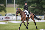 FLYING FINISH ridden by Caroline Powell (New Zealand) at Bramham International Horse Trials 2016 at Bramham Park, Bramham, United Kingdom on 9 June 2016. Photo by Mark P Doherty.