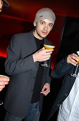 RUDI ASHCROFT at an Easter party hosted by Charlie Gilkes under the umbrella of his new PR/Events Company; 'Chic Vie' at trendy South Kensington Nightclub; 'Boujis' that is a favourite with Princes William and Harry and a host of other celebrities on 21st March 2005. Guests enjoyed a fruit martini reception on arrival and danced the night away until the early hours<br /><br />NON EXCLUSIVE - WORLD RIGHTS
