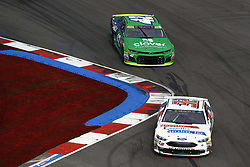 September 30, 2018 - Concord, North Carolina, United States of America - Matt DiBenedetto (32) races during the Bank of America ROVAL 400 at Charlotte Motor Speedway in Concord, North Carolina. (Credit Image: © Chris Owens Asp Inc/ASP via ZUMA Wire)