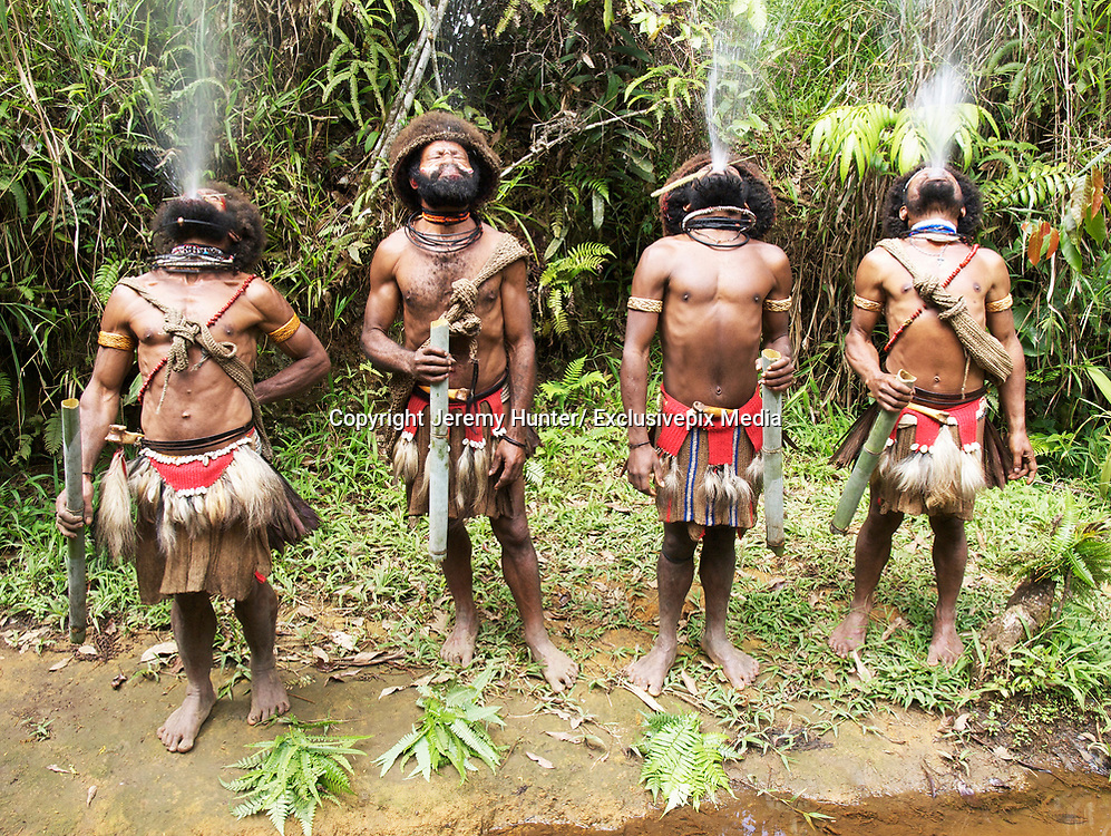 "Papua New Guinea is one of the most untouched lands on Earth.   It's a land without sheep, goats or cattle.<br /> <br /> It's a land where there are no donkeys, horses or mules. A land where there is no recreational sex.<br /> <br /> A land where a new-born girl is called a Shovel, a boy an Axe.  A land of few roads and fewer birth-certificates. <br /> <br /> The Southern Highlands is the land of the Huli - the largest ethnic group, numbering around 55,000 - who have been occupying this remote part of the country for around 1000 years. <br /> <br /> Men and women, husbands and wives, live in separate houses  - as men believe that menstrual blood is the deadliest poison.<br /> <br /> For nine days a month women are caste out to a separate house and during this time the men will not accept any food either touched or cooked by them, nor will they walk on any <br /> <br /> ground trodden by women during their cycle. These Highlanders believe that menstruating women cause sickness and infirmity.<br /> <br /> So couples in the Highlands take great pains to avoid any physical contact with each other, leading completely separate lives, cooking, eating, sleeping and working apart. Sex only <br /> <br /> takes place occasionally - for reproductivity - and it always takes place in the 'garden'. <br /> <br /> Teenage boys go to ""Wig-School"" - under the tutelage of a Wig-Master;  they live together in isolation from the rest of the community.<br /> Wig-Masters are normally tribal elders who have special powers and are able to cast spells to enable the growth of hair.<br /> <br /> At Wig-School, they learn the fundamentals and rules of Huli traditional customs: growing their hair; collecting feathers; and making armbands.<br /> <br /> One of the rules of Huli culture is that boys live with their mothers until they are seven or eight years old, then they live with their fathers to learn skills like hunting with bows and arrows, building mud walls and making houses.<br /> <br /> When they are 14 to 15 years old, they go to Wig-School and do not return home again until 'graduation'.<br /> <br /> Sometimes they stay there for 10"