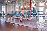 Laramie Community Recreation Center Leisure Swimming Pool, Laramie, WY