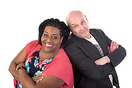 Alison Hammond and Daz Hall BBC iplayer portraits