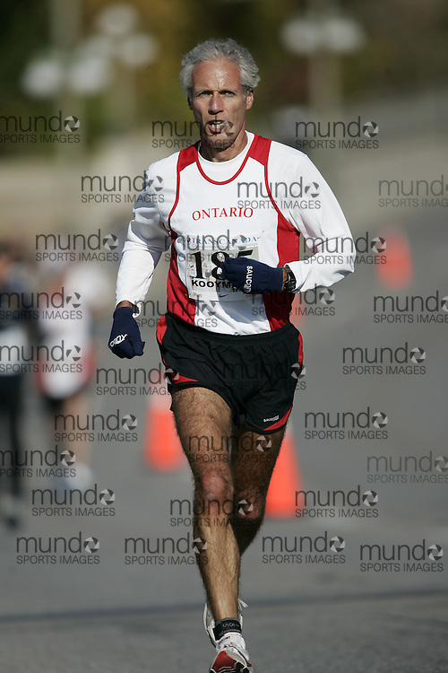(Ottawa, ON---18 October 2008) JERRY KOOYMANS competes in the 2008 TransCanada 10km Canadian Road Race Championships. Photograph copyright Geoff Robins/Mundo Sport Images (www.msievents.com).