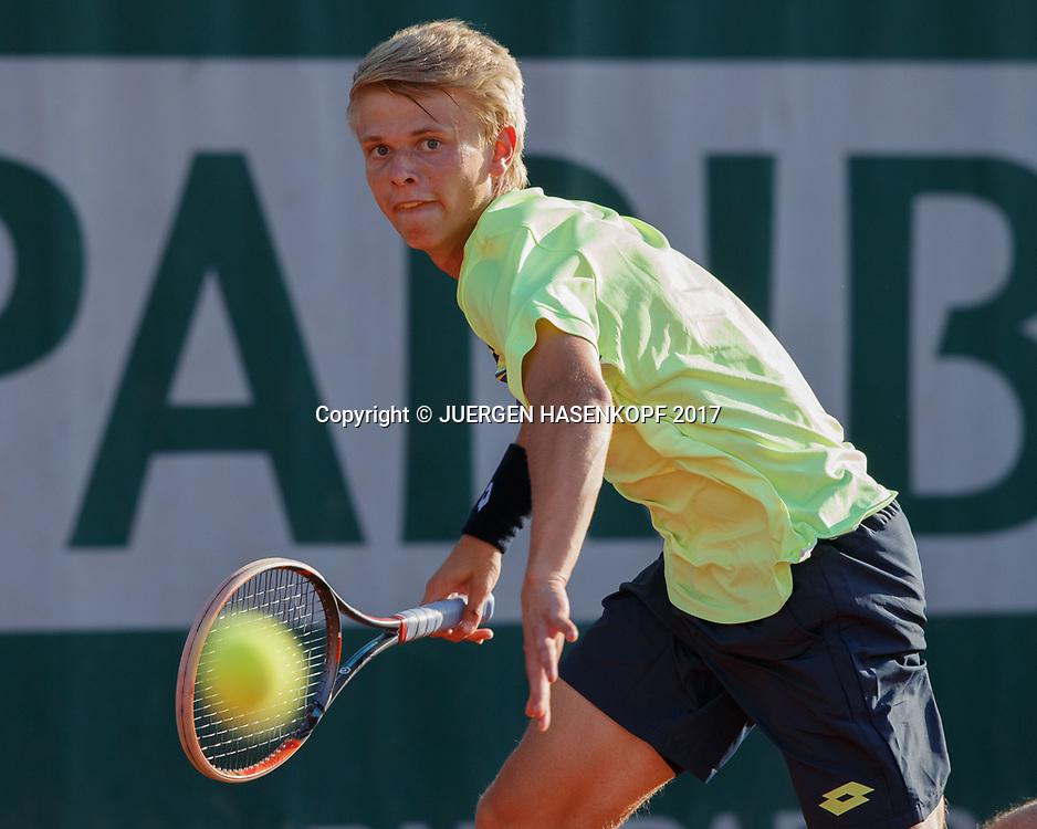 MARVIN MOELLER (GER) Junior Boys<br /> <br /> Tennis - French Open 2017 - Grand Slam / ATP / WTA / ITF -  Roland Garros - Paris -  - France  - 4 June 2017.