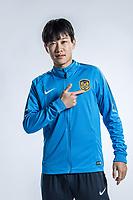 **EXCLUSIVE**Portrait of Chinese soccer player Wu Fan of Jiangsu Suning F.C. for the 2018 Chinese Football Association Super League, in Nanjing city, east China's Jiangsu province, 23 February 2018.
