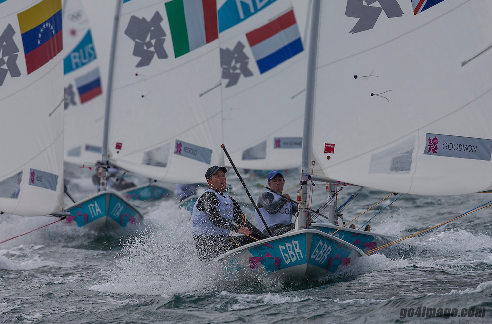 Laser	GBR	Goodison Paul<br /> <br /> 2012 Olympic Games <br /> London / Weymouth