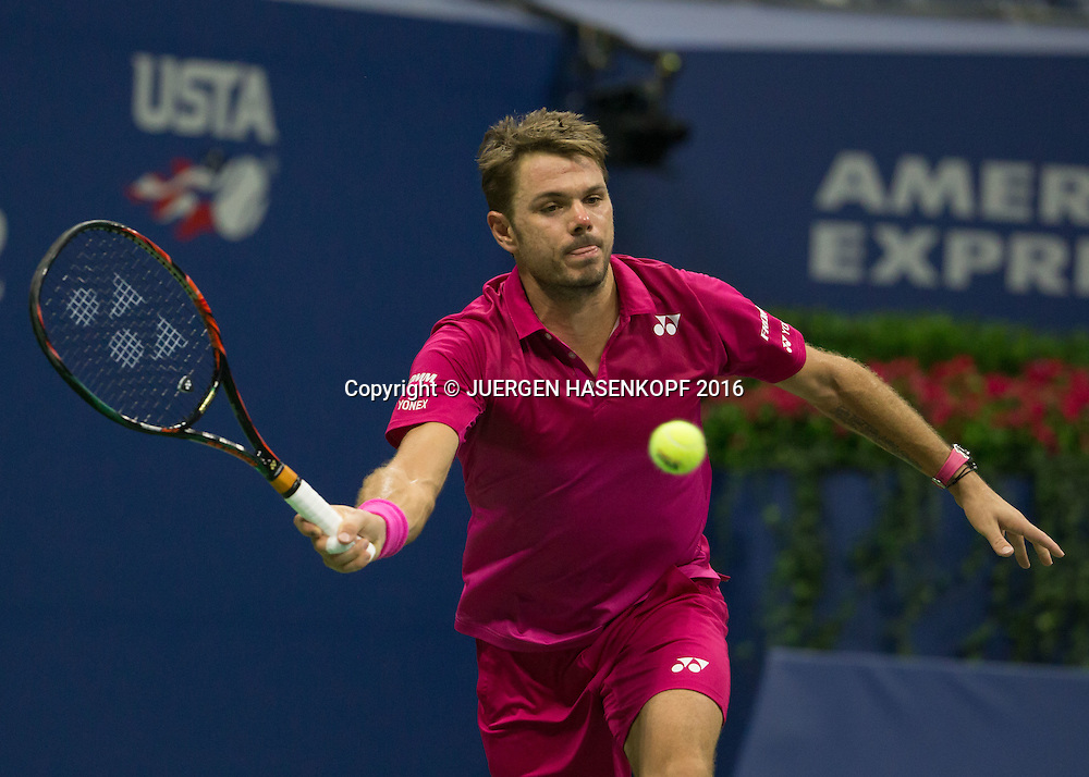 STAN WAWRINKA (SUI)<br /> <br /> Tennis - US Open 2016 - Grand Slam ITF / ATP / WTA -  USTA Billie Jean King National Tennis Center - New York - New York - USA  - 9 September 2016.