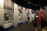 General views of the Super Bowl exhibit in the Pro Football Hall of Fame in Canton, Ohio on June 30, 2013.<br /> <br /> © 2013 Scott A. Miller