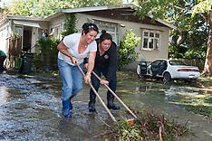 Christchurch-City cleans up after big storm