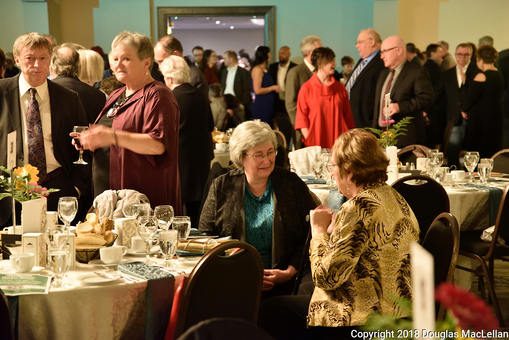 The Thirty First Annual Mayors' Dinner is presented by The Working Centre on 07 April 2018 at Bingamens in Kitchener, Ontario. This year The Working Centre honours Arleen MacPherson, Gretchen Jones, and Jennifer Mains who will tell the story of Saint John's Kitchen.