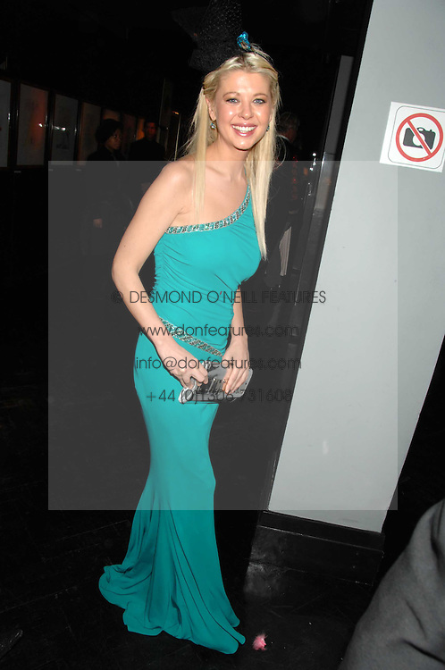 Actress TARA REID at Andy & Patti Wong's Chinese new Year party held at County Hall and Dali Universe, London on 26th January 2008.<br /> <br /> NON EXCLUSIVE - WORLD RIGHTS (EMBARGOED FOR PUBLICATION IN UK MAGAZINES UNTIL 1 MONTH AFTER CREATE DATE AND TIME) www.donfeatures.com  +44 (0) 7092 235465