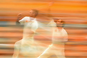 BRISBANE, AUSTRALIA - NOVEMBER 08: Mitchell Johnson of Australia bowls during day four of the First Test match between Australia and New Zealand at The Gabba on November 8, 2015 in Brisbane, Australia.  (Photo by Matt Roberts - CA/Cricket Australia/Getty Images)