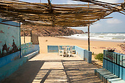 Cafe des Pecheurs, Aftas Beach, Mirleft, Southern Morocco, 2016-05-30.
