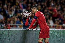 March 22, 2019 - Na - Lisbon, 03/22/2019 - The Portuguese Football Team received their Ukrainian counterpart this afternoon at the Estádio da Luz in Lisbon, in Group B play in the qualifying round for the European Championship. Cristiano Ronaldo  (Credit Image: © Atlantico Press via ZUMA Wire)