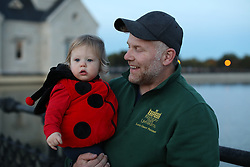 Gemma Marie Palmer at 14 months on her first-ish trick or treat outing, Wednesday, Oct. 24, 2018  at Water Treatment Plant in LOUISVILLE.
