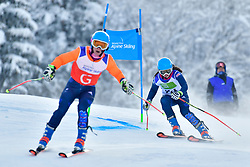 FITZPATRICK Menna, Guide: KEHOE Jennifer, B2, GBR, Men's Giant Slalom at the WPAS_2019 Alpine Skiing World Championships, Kranjska Gora, Slovenia