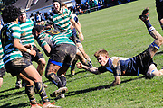 Ed Chaney Cup Final rugby union game played between Petone  v Old Boys University, at  Petone Park, Petone, Wellington, New Zealand, on 5 August 2017.  Petone won 21-19.