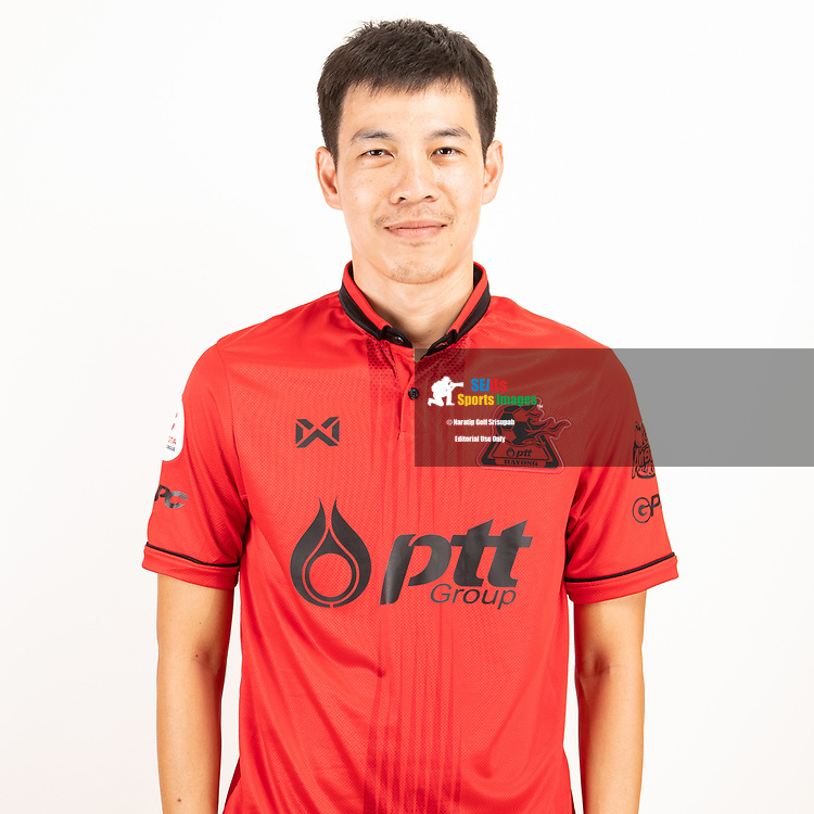 THAILAND - JUNE 09: Apipoo Sulthornpanavej #18 of PTT Rayong FC on June 09, 2019.<br /> .<br /> .<br /> .<br /> (Photo by: Naratip Golf Srisupab/SEALs Sports Images/MB Media Solutions)