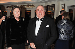 ANTHONY & ANTOINETTE OPPENHEIMER at the 22nd Cartier Racing Awards held at The Dorchester, Park Lane, London on 13th November 2012.