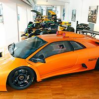 Lamborghini Diablo GT2 at the Lamborghini Museum in Sant'Agata Bolognese, Italy, May 2014