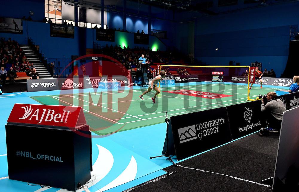 Nicky Cerfontyne of Bristol Jets  - Photo mandatory by-line: Robbie Stephenson/JMP - 07/11/2016 - BADMINTON - University of Derby - Derby, England - Team Derby v Bristol Jets - AJ Bell National Badminton League