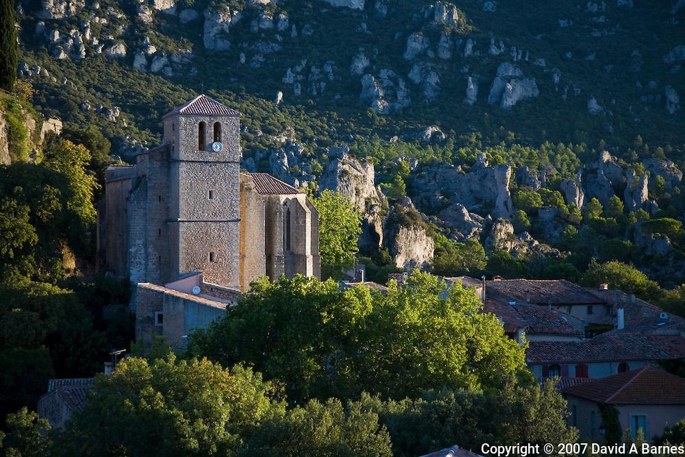 Moureze. Herault, Languedoc, France