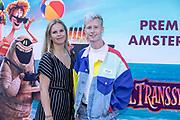 2018, 15 Juli. Pathe ArenA, Amsterdam. Premiere van Hotel Transsylvanie 3. Op de foto: Bradley Braafhart