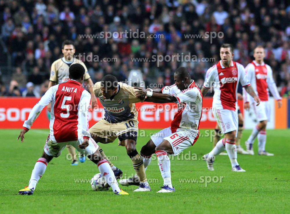 02.11.2011, Amsterdam Arena. Amsterdam, NED, UEFA Champions League, Vorrunde, Ajax Amsterdam (NED) vs Dinamo Zagreb (CRO), im Bild  Sammir// during Ajax Amsterdam (NED) vs Dinamo Zagreb (CRO), at Amsterdam Arena, Amsterdam, NED, 2011-11-02. EXPA Pictures © 2011, PhotoCredit: EXPA/ nph/                                                                                                     Foto ©  nph / PIXSELL / Marko Lukunic       ****** out of GER / CRO  / BEL ******