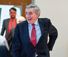Gordon Brown European election rally,  Glasgow,  20 May 2019