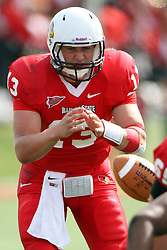 15 September 2012:  Matt Brown during an NCAA football game between the Eastern Illinois Panthers and the Illinois State Redbirds at Hancock Stadium in Normal IL