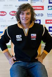 Miha Kuerner of Slovenian Alpine Ski Team before new season 2008/2009, on Septembra 25, 2008, Ljubljana, Slovenia. (Photo by Vid Ponikvar / Sportal Images)