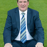 St Johnstone FC Season 2017-18 Photocall<br />Manager Tommy Wright<br />Picture by Graeme Hart.<br />Copyright Perthshire Picture Agency<br />Tel: 01738 623350  Mobile: 07990 594431