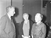 """Gael Linn.Seán Ó Riada's """"Spailpin a Ruin"""" premieres at Damer Theatre, Stephen's Green as part of the International Theatre Festival..15.09.1960"""