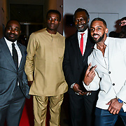 Levi Roots and Richard Blackwood attend The BAME Donor Gala - Awareness gala hosted by the Health Committee with live music and poetry performances at City Hall at The Queen's Walk, London, UK. 18 March 2019.
