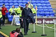 Sunderland Manager, Jack Ross arrives at Fratton Park during the EFL Sky Bet League 1 match between Portsmouth and Sunderland at Fratton Park, Portsmouth, England on 22 December 2018.