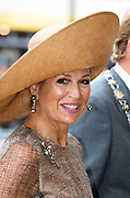 Koningin Maxima vertrekt na afloop van de lancering van de Nationale AI-cursus Junior. Deze cursus moet kinderen de beginselen van kunstmatige of artifici'le intelligentie (AI) bijbrengen. <br /> <br /> Queen Maxima leaves after the launch of the National AI Junior course. This course aims to teach children the principles of artificial or artificial intelligence (AI).