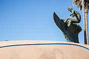 Surfer Statue Huntington Beach
