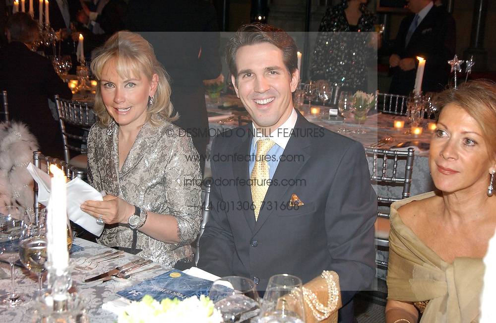 HEINI AL FAYED and CROWN PRINCE PAVLOS OF GREECE at The Magic of Winter ball in aid of the charity KIDS held at The Royal Courts of Justice, London on 2nd Ferbruary 2005.<br /><br />NON EXCLUSIVE - WORLD RIGHTS