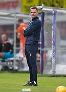 9th July 2019, Dens Park, Dundee, Scotland; Pre-season football friendly, Dundee versus Blackpool; Dundee manager James McPake